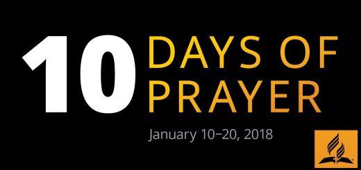 10 dní modlitieb 2018