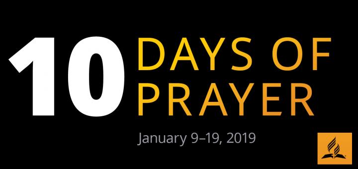 10 dní modlitieb 2019
