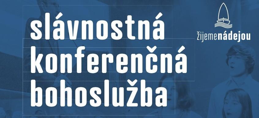 Slávnostná konferenčná Bohoslužba 2019 banner