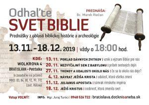 Odhaľte svet Biblie