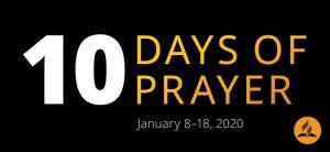 10 dní modlitieb 2020